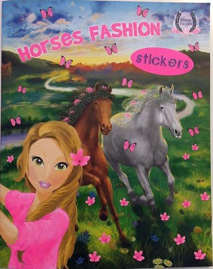 neuveden: Horses Passion 3 - Milujeme koníky - Omalovánky a samolepky