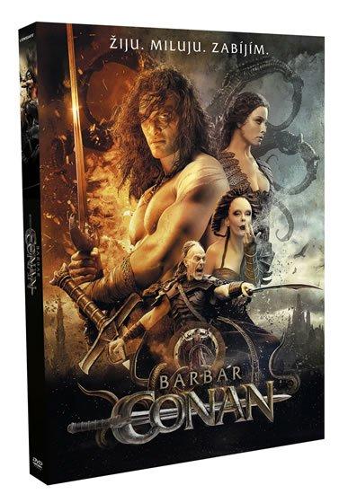 neuveden: Barbar Conan DVD - digipack
