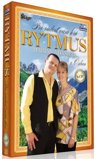 neuveden: Rytmus Marián a Daniela - Pre radost Vám hrá - 6 CD