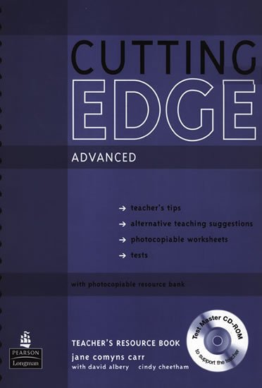 Comyns Carr Jane: New Cutting Edge Advanced Teacher´s Book w/ Test Master CD-ROM Pack