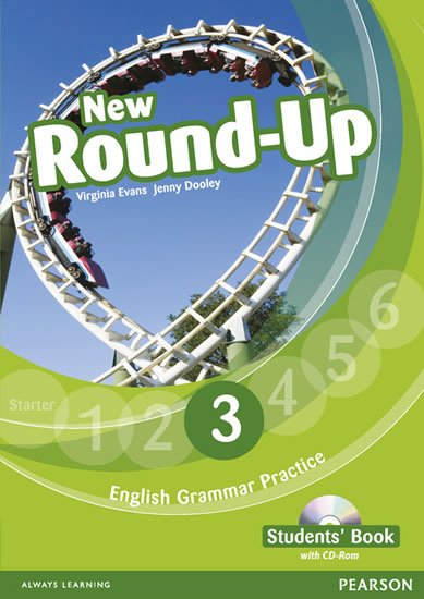 Dooley Jenny: Round Up 3 Students´ Book w/ CD-ROM Pack