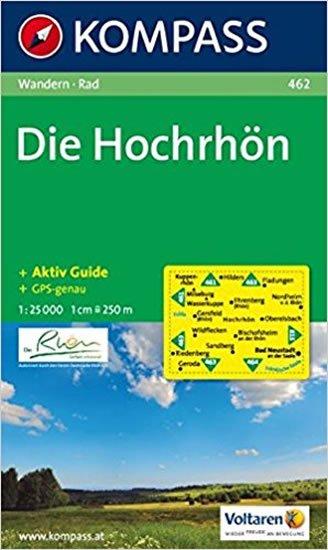 neuveden: Die Hochrhön 462 / 1:25T NKOM