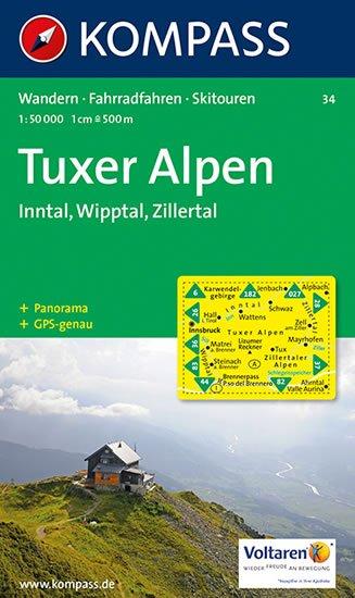 neuveden: Tuxer Alpen 34 / 1:50T NKOM