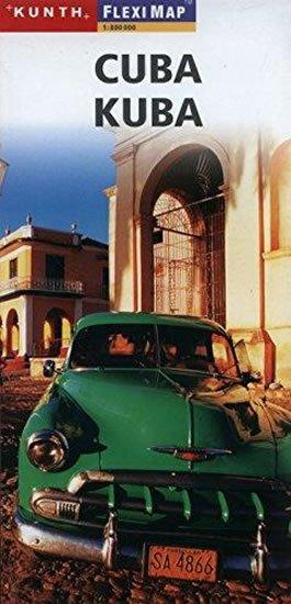 neuveden: Cuba/Kube Fleximap  1:800T KUN