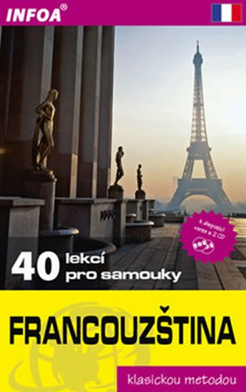Nouschi Sylviane, Gandilhon Nicole: Francouzština - 40 lekcí pro samouky