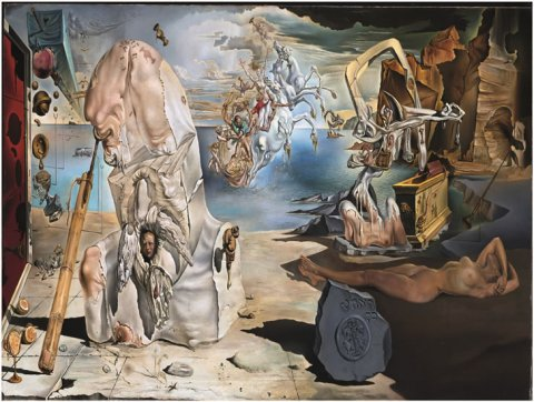 neuveden: Salvador Dalí: Apoteóza Homéra - Puzzle/1500 dílků