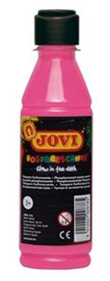 neuveden: JOVI temperová barva neónová 250ml v lahvi růžová