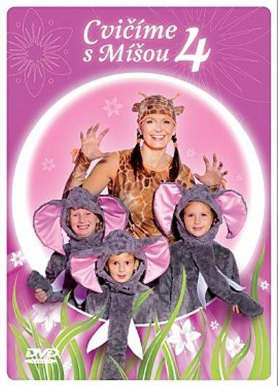 neuveden: Cvičíme s Míšou 4 - DVD