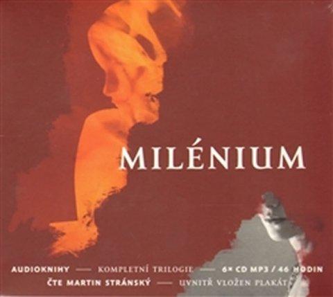 Larsson Stieg: Milénium - kompletní trilogie - 6 CDmp3 (Čte Martin Stránský)