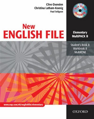 Oxenden Clive: New English File Elementary Multipack B