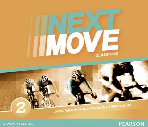 Barraclough Carolyn: Next Move 2 Class Audio CDs