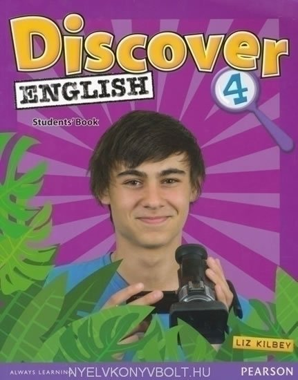 Kilbey Liz: Discover English CE 4 Students´ Book