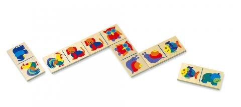 neuveden: Domino - zvířata - v papírovém kartonu