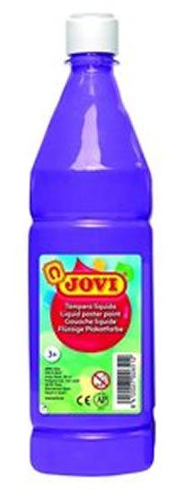 neuveden: JOVI temperová barva 1000ml v lahvi fialová