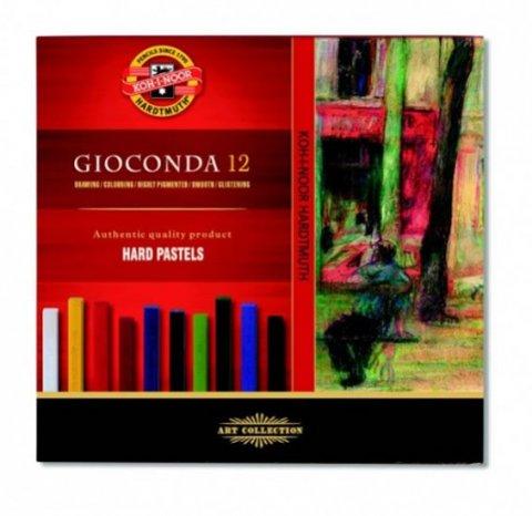 neuveden: Koh-i-noor křídy (pastely) olejové umělecké GIOCONDA souprava 12 ks