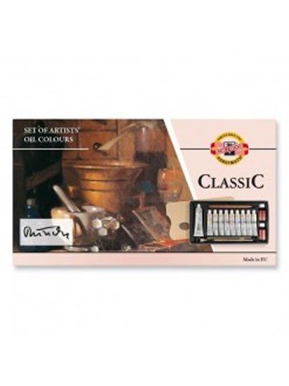 neuveden: Koh-i-noor barvy olejové sada CLASSIC 10 barev