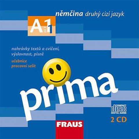 neuveden: Prima A1/díl 1 - CD k učebnice /2ks/