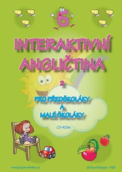 Pařízková Štěpánka: Interaktivní angličtina 2 pro předškoláky a malé školáky - CD