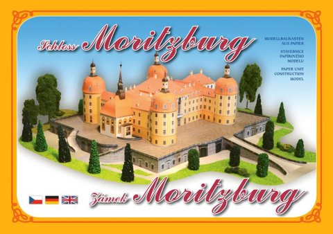 neuveden: Zámek Moritzburg - Stavebnice papírového modelu