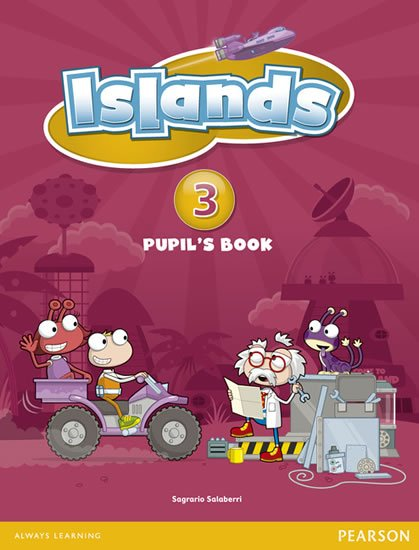 Burgess Sally: Islands 3 Pupil´s Book plus PIN code