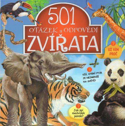 neuveden: Zvířata - 501 otázek a odpovědí