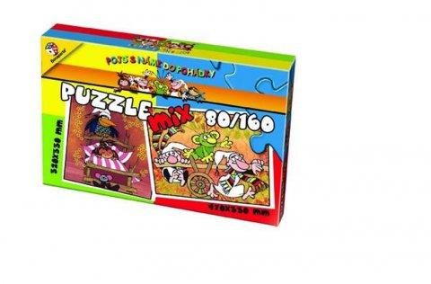 neuveden: Puzzle Mix 80/160 - Pojď s námi do pohádky