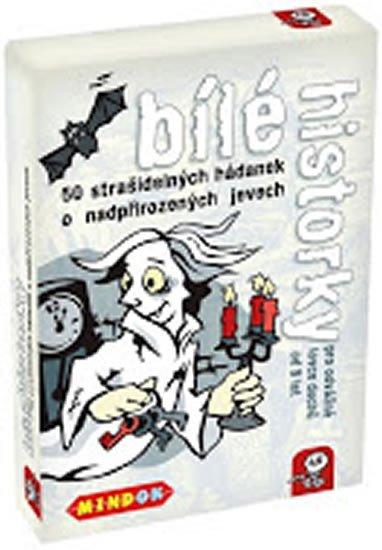 Bungter Tobias, Köhrsen Andrea,: Bílé historky: 50 strašidelných hádanek o nadpřirozených jevech