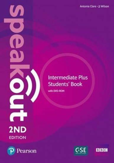 Clare Antonia, Wilson J.J.: Speakout 2nd Edition Intermediate Plus Students´ Book w/ DVD-ROM/MyEnglishL