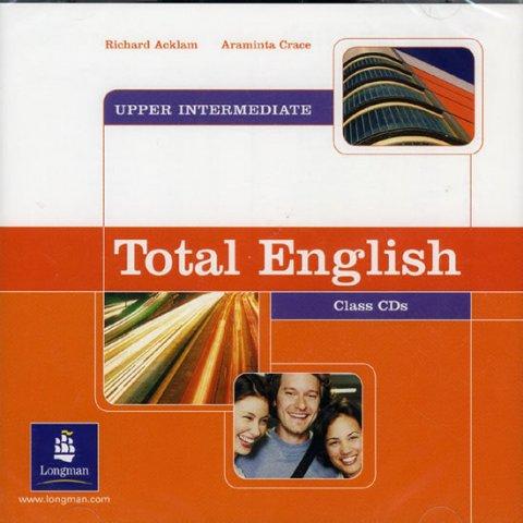 Acklam Richard: Total English Upper Intermediate Class CDs