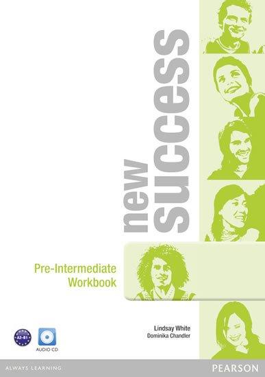 White Lindsay: New Success Pre-Intermediate Workbook w/ Audio CD Pack
