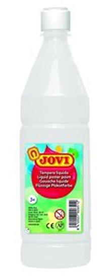 neuveden: JOVI temperová barva 1000ml v lahvi bílá