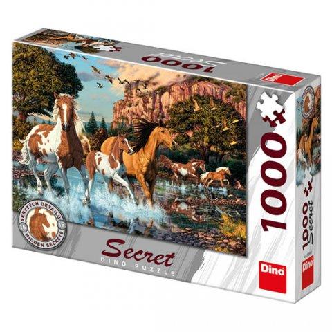neuveden: Koně: secret collection puzzle 1000 dílků