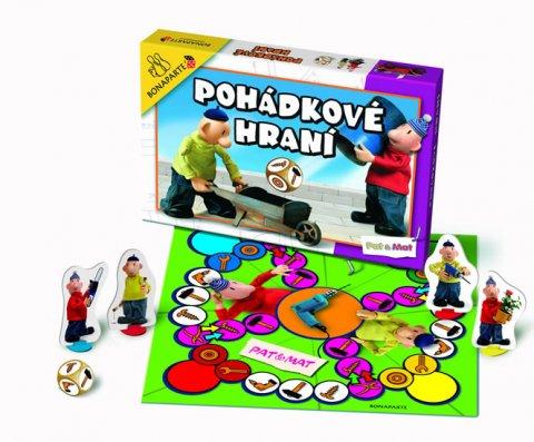 neuveden: Společenská hra - Pohádkové hraní Pat a Mat