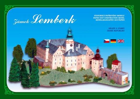 neuveden: Zámek Lemberk - Stavebnice papírového modelu