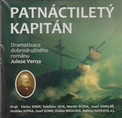 Verne Jules: Patnáctiletý kapitán - CD