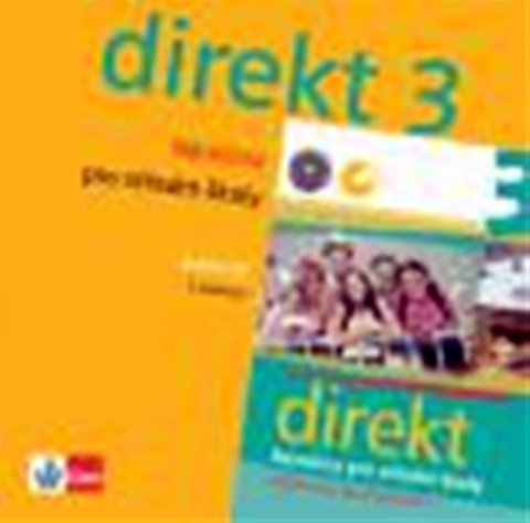 kolektiv autorů: Direkt 3 - Němčina pro SŠ - CD