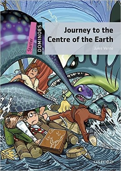 Verne Jules: Dominoes Starter Journey to the Centre of the Earth with Audio Mp3 Pack (2n
