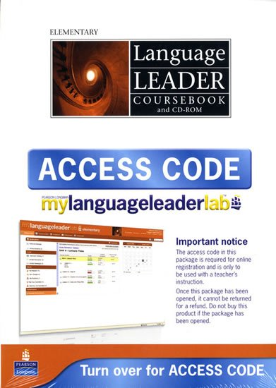 Rees Gareth: Language Leader Elementary Coursebook w/ CD-ROM/LMS/Access Card Pack