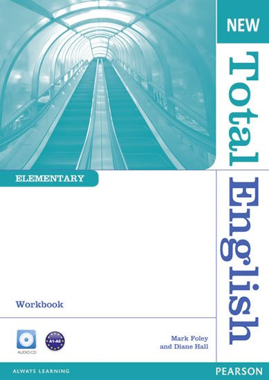 Hall Diane: New Total English Elementary Workbook w/ Audio CD Pack (no key)