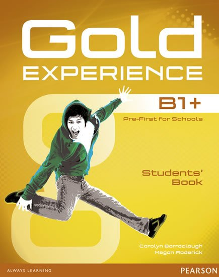 Barraclough Carolyn: Gold Experience B1+ Students´ Book w/ DVD-ROM Pack