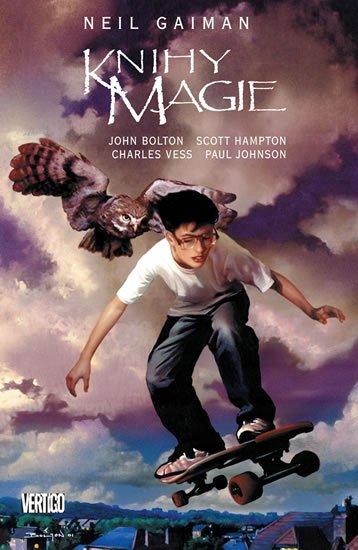 Gaiman Neil, Bolton John, Hampton Scott,: Knihy magie