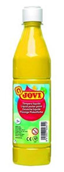 neuveden: JOVI temperová barva 500ml v lahvi žlutá