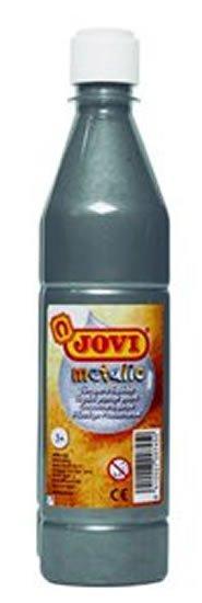 neuveden: JOVI temperová barva metalická 500ml v lahvi stříbrná