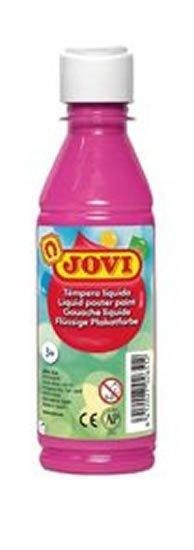 neuveden: JOVI temperová barva 250ml v lahvi růžová