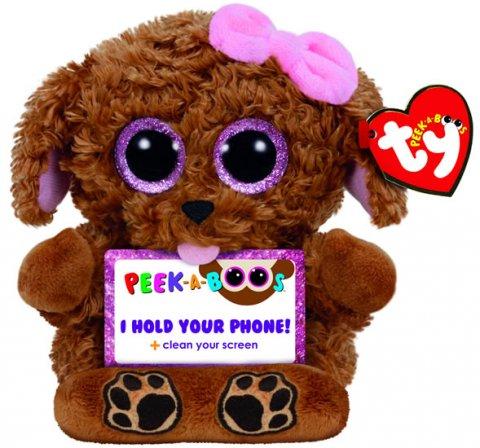 neuveden: TY Peek-a-Boos ZELDA - pes 14 cm