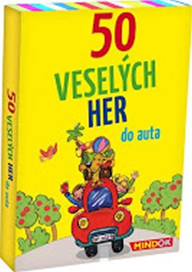 Berger Nicola: 50 veselých her do auta