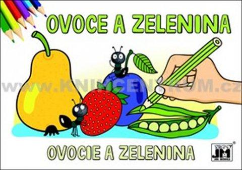 neuveden: Ovoce a zelenina Omalovánky A5