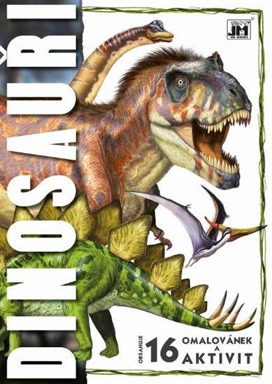 neuveden: Dinosauři - Omalovánky A4
