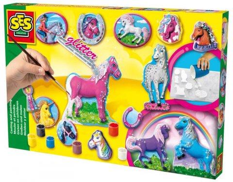 neuveden: SES Odlévání a malování koní