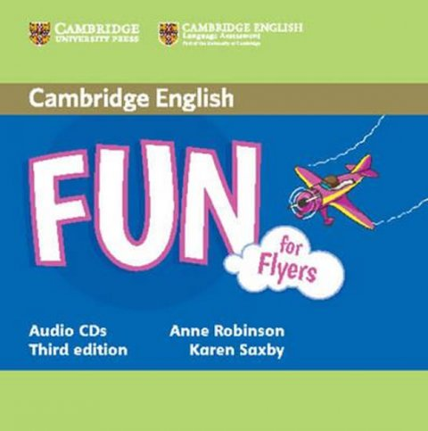 Robinson Anne: Fun for Flyers 3rd Edition: Audio CD